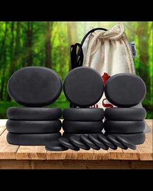 20Pcs Round Massage Stones