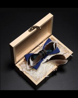 Luxury Handmade Feather Bow Tie
