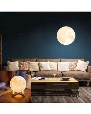 Hanging Globe 3D Moon Lamp