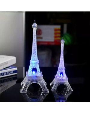 Acrylic Eiffel Tower Flashing LED Colorful Night Light