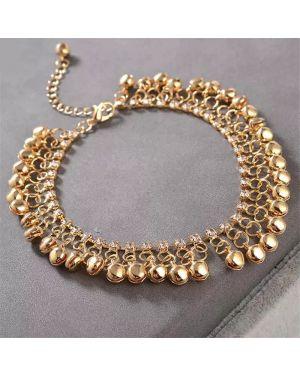 Bohemian Gold Bell Anklet