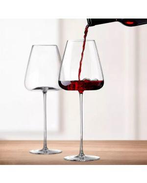 Burgundy Style Glass