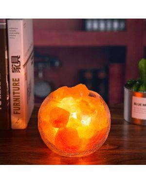 Himalayan Crystal Salt Lamp Dimmable Ice