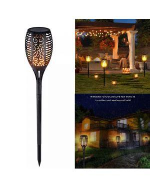 Hollow Design Flame Lamp