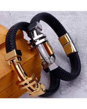 Luxury Leather Bracelet