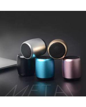 Metal Mini Portable Wireless Bluetooth Speaker