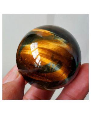 Natural Tiger Eye Gemstone Sphere
