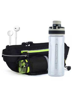 Running Waist Belt Bag With Water Bottle