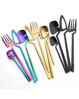 Stylish Matte Cutlery Set