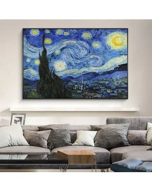 Van Gogh Starry Night Canvas Painting