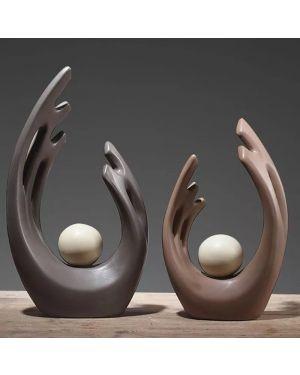 Wing Ornaments Modern Ceramic Decoration