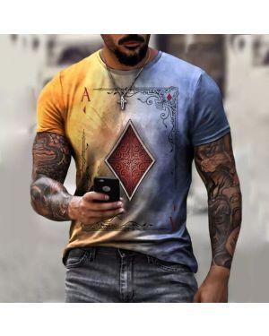 T-Shirt Playing Cards 3D Print
