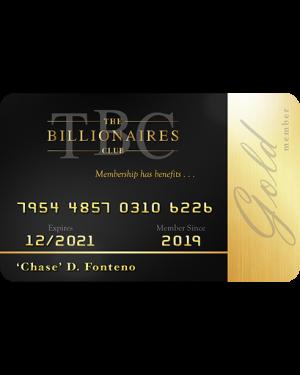 TBC GOLD Membership Card